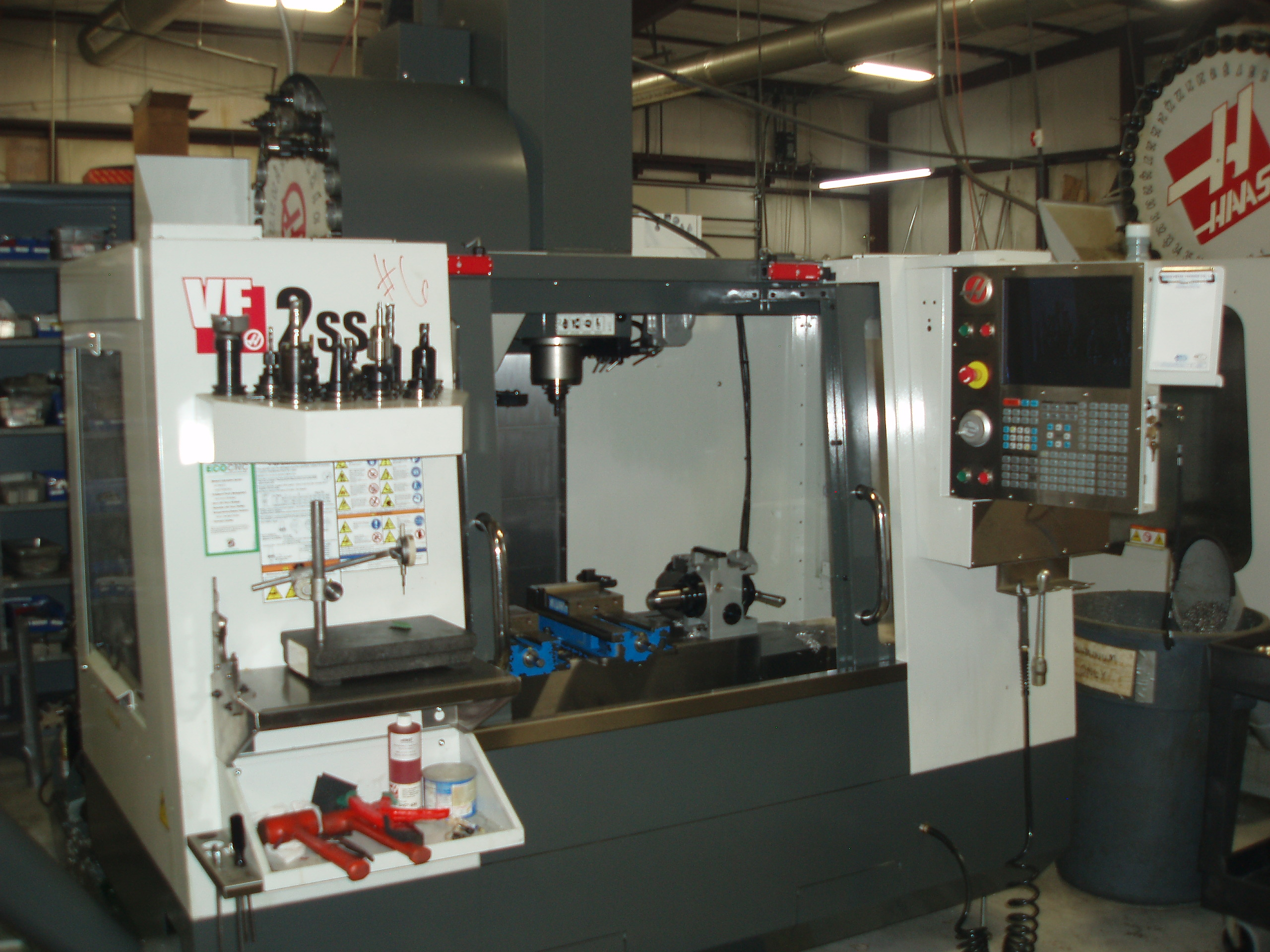 HAAS VF2ss: Vertical Milling Center